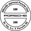 Officially approved Porsche Club 100